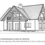 Einfamilienhaus- Ansicht