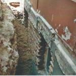 Keller aufgegraben